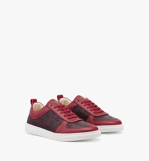 Women's Sustainable Terrain Lo Sneakers in Monogram Leather