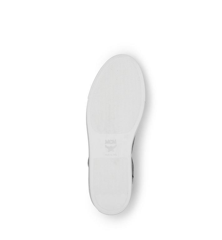 MCM Men's High Top Turnlock Sneakers in Visetos MEX7AMM02BK044 AlternateView5