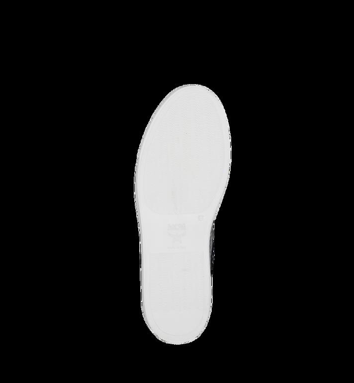MCM Men's Low Top Classic Sneakers in Visetos MEX7AMM04BK044 AlternateView5