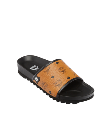 MCM Men's Visetos Slides AlternateView1