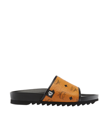 MCM Men's Visetos Slides AlternateView3