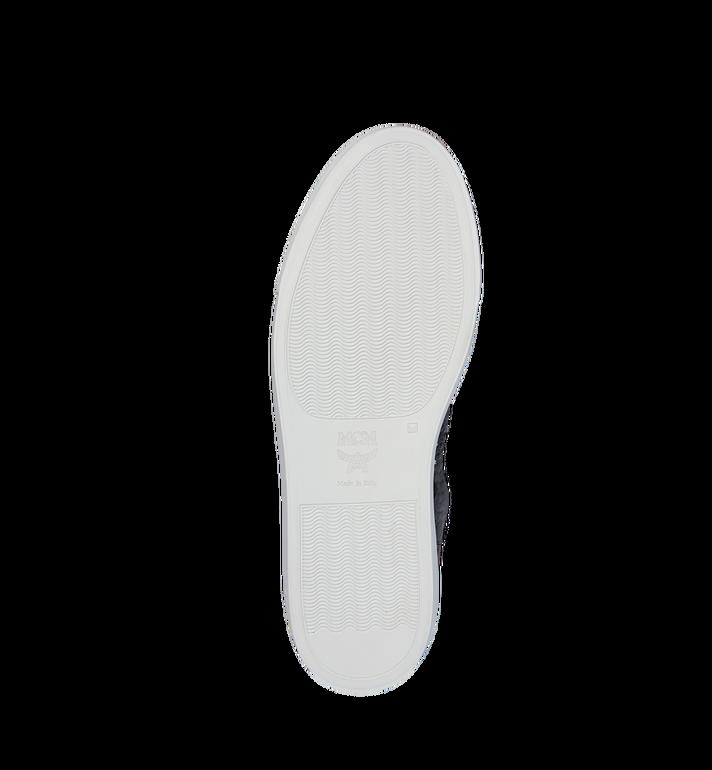MCM Men's High Top Turnlock Sneakers in Visetos Alternate View 5