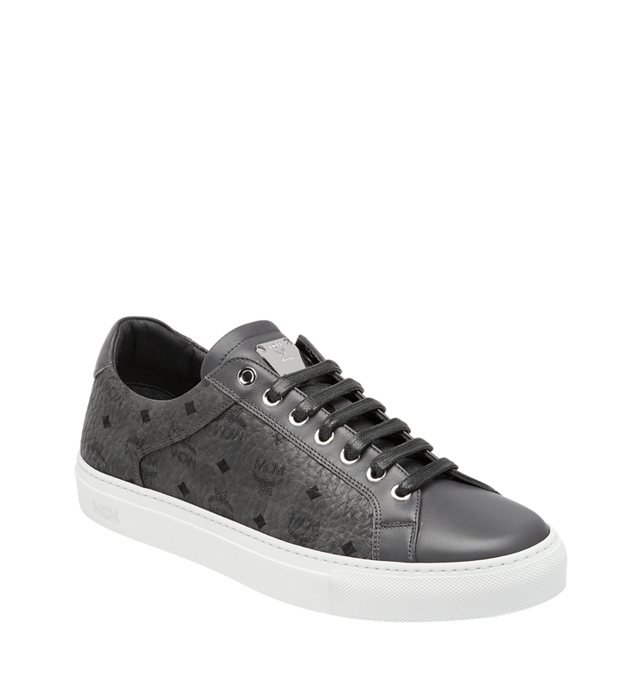 MCM Men's Low Top Sneakers in Visetos AlternateView