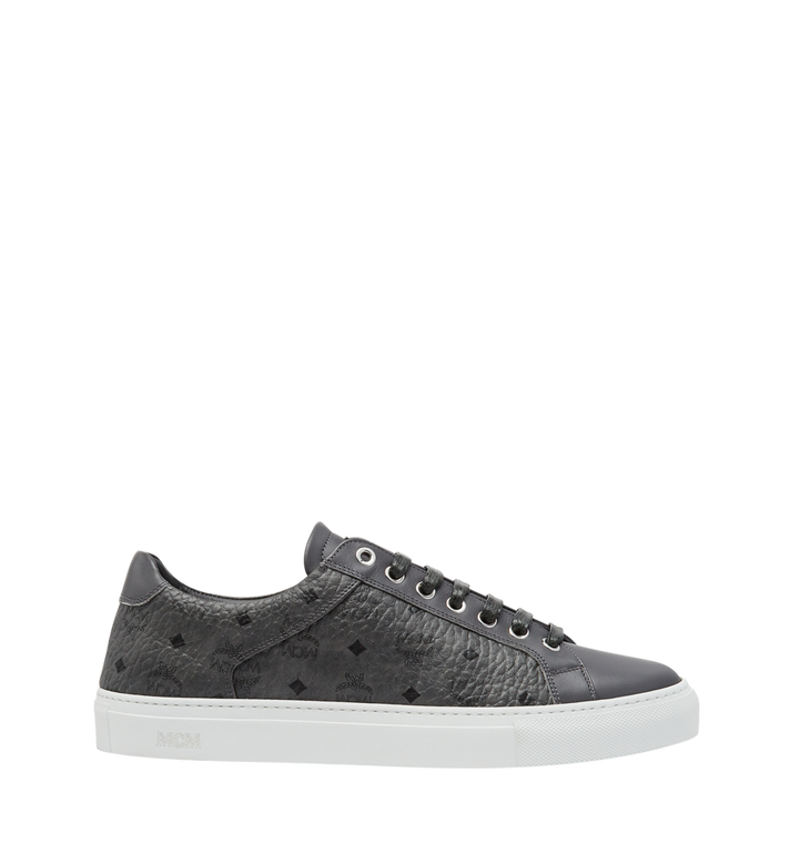 MCM Men's Low Top Sneakers in Visetos AlternateView2
