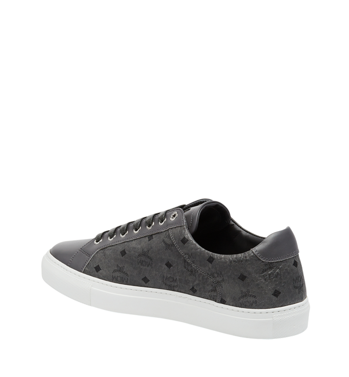 MCM Men's Low Top Sneakers in Visetos AlternateView3
