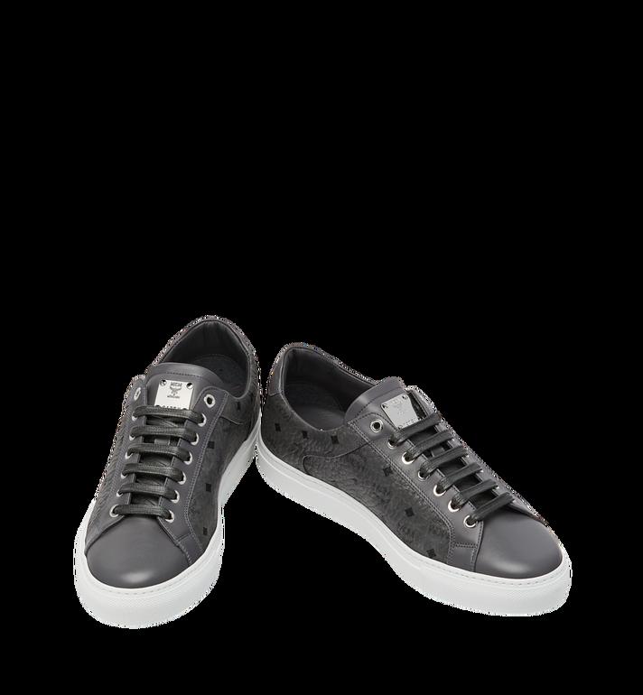 MCM Men's Low Top Sneakers in Visetos Alternate View 4