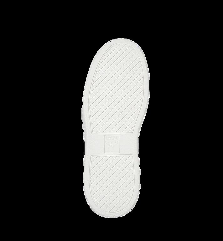 MCM Men's Slip On Sneakers in Visetos MEX8SMM22WT043 AlternateView5