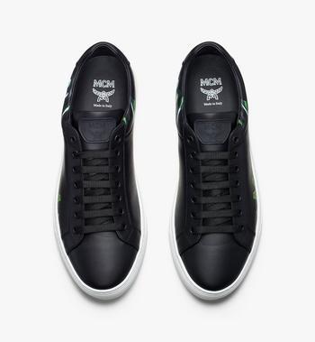 MCM Men's Milano Low-Top Sneakers Grey MEX9ADA74EC041 Alternate View 5