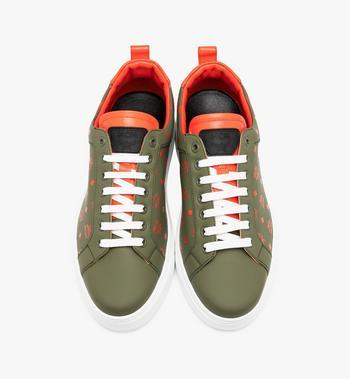 MCM Men's Low-Top Sneaker in Visetos Alternate View 4