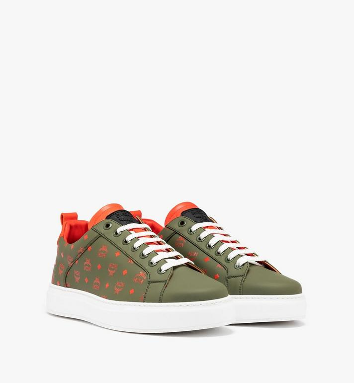 MCM Men's Low-Top Sneaker in Visetos Alternate View