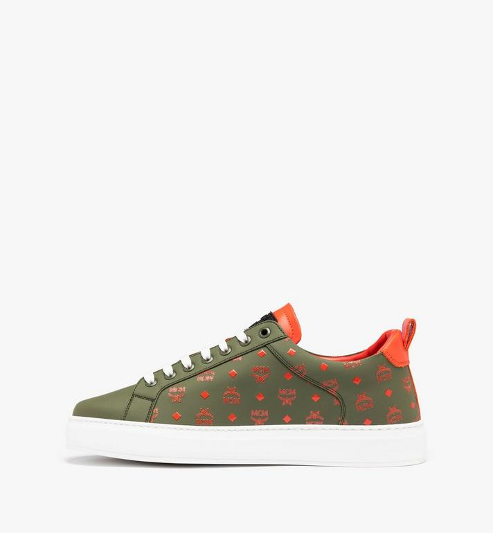 MCM Men's Low-Top Sneaker in Visetos Alternate View 3