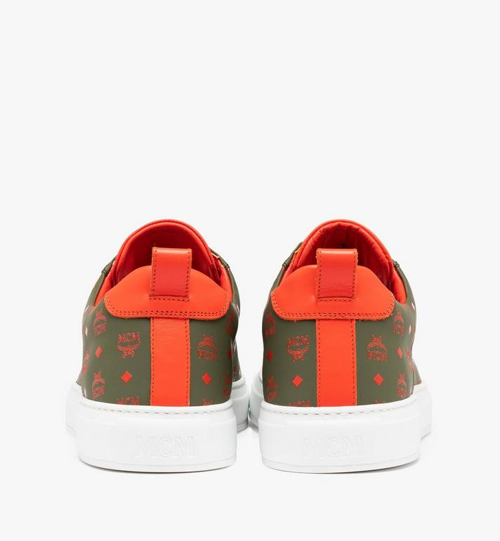 MCM Men's Low-Top Sneaker in Visetos Alternate View 5