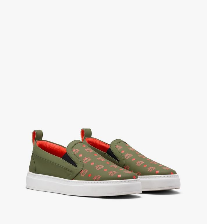 MCM Men's Slip-On Sneaker in Visetos Alternate View