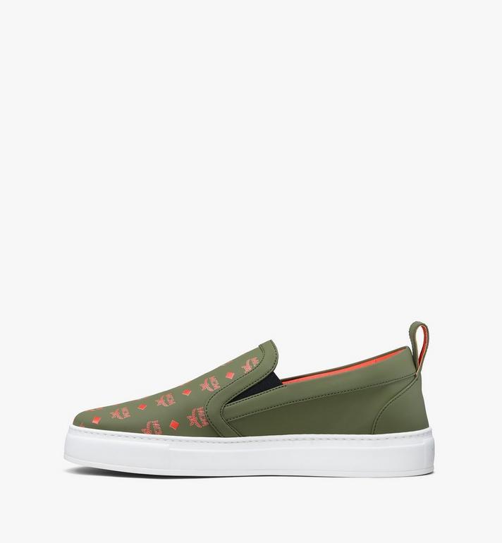 MCM Men's Slip-On Sneaker in Visetos Alternate View 4