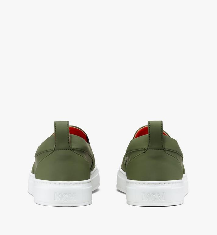 MCM Men's Slip-On Sneaker in Visetos  MEX9AMM61G8044 Alternate View 3