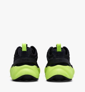 MCM Men's Low-Top Himmel Sneaker in Suede Alternate View 3