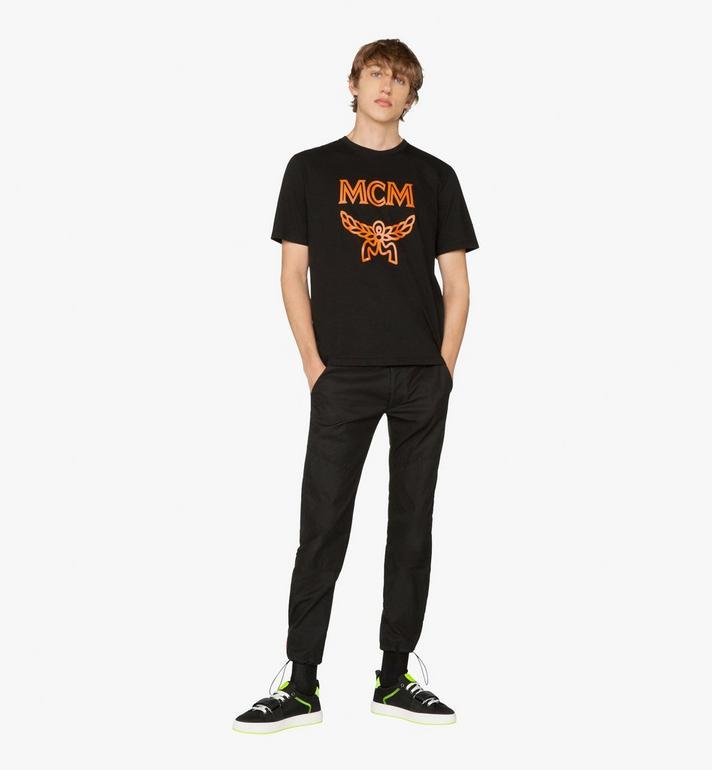 MCM Men's Low-Top Velcro Sneaker in Nylon Alternate View 6