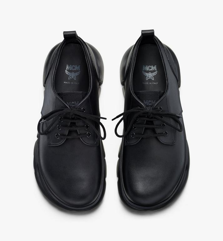 MCM Eleganter Resnick Sneaker in Kalbsleder für Herren  MEX9AMM69BK041 Alternate View 5