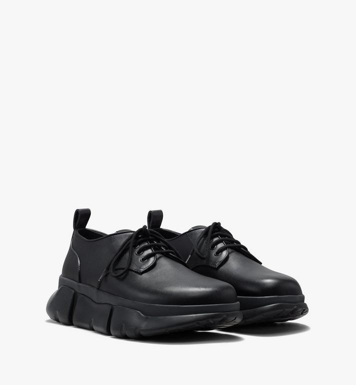MCM Men's Resnick Dress Sneaker in Calfskin Leather Alternate View