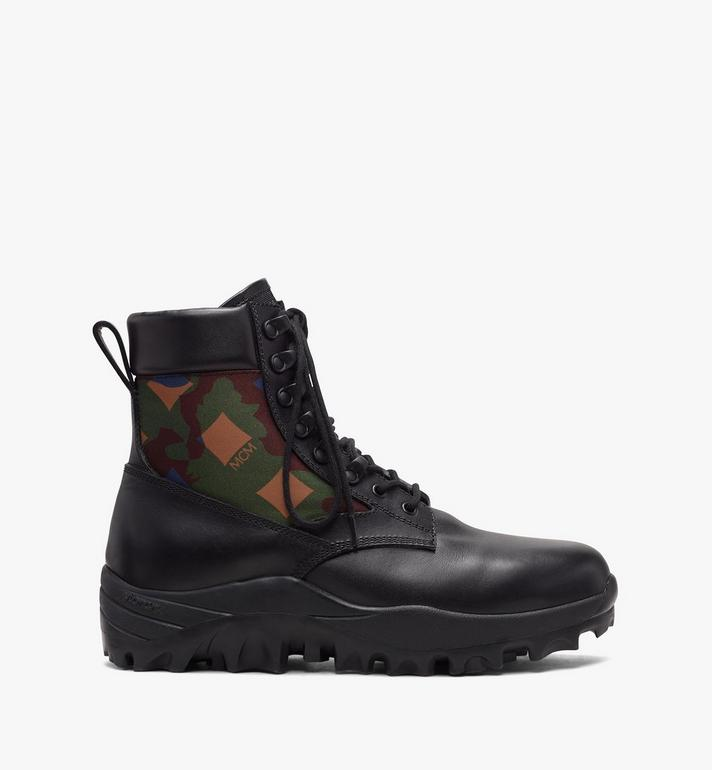 MCM Men's Resnick Combat Boot in Nylon Camo  MEX9AMM80GZ044 Alternate View 2