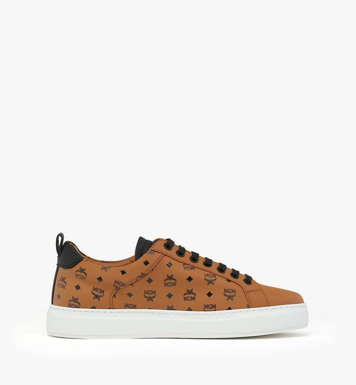 MCM Men's Low-Top Sneakers in Visetos Alternate View 2