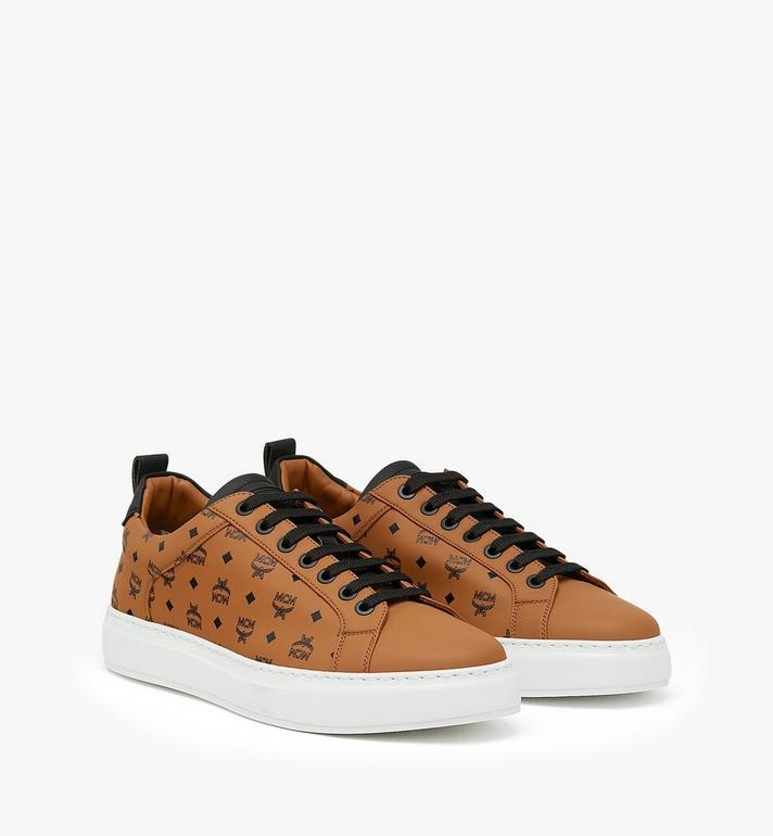 MCM Low-Top-Sneaker in Visetos für Herren Alternate View