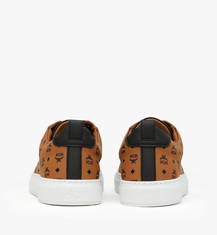 MCM Low-Top-Sneaker in Visetos für Herren Alternate View 4