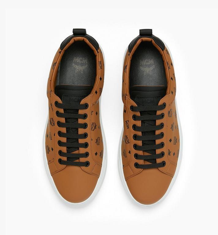 MCM Low-Top-Sneaker in Visetos für Herren Alternate View 5