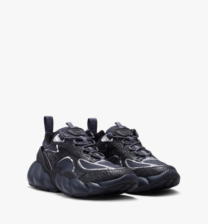 MCM Men's Low-Top Himmel Sneaker in Visetos Alternate View