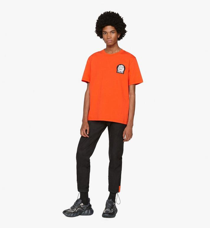 MCM Men's Low-Top Himmel Sneaker in Visetos  MEX9ANX05BK041 Alternate View 6