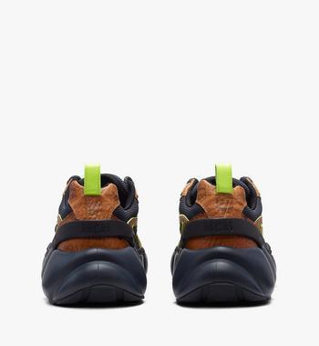 MCM Men's Low-Top Himmel Sneaker in Visetos Alternate View 3
