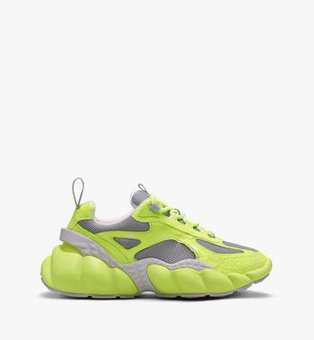 MCM Men's Low-Top Himmel Sneaker in Visetos  MEX9ANX05YN041 Alternate View 2