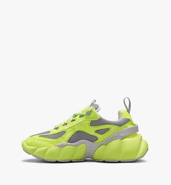 MCM Men's Low-Top Himmel Sneaker in Visetos  MEX9ANX05YN041 Alternate View 4