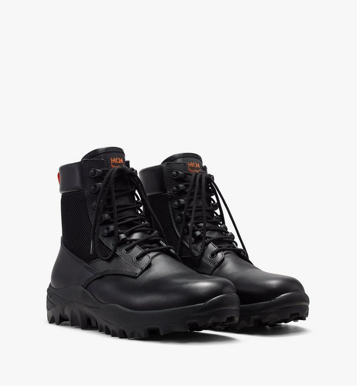 MCM Men's Resnick Combat Boot in Nylon Alternate View 1