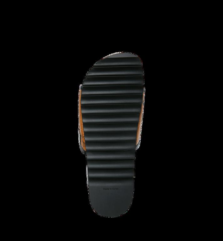 MCM Men's Slides in Visetos Cognac MEX9S2K05CO041 Alternate View 5