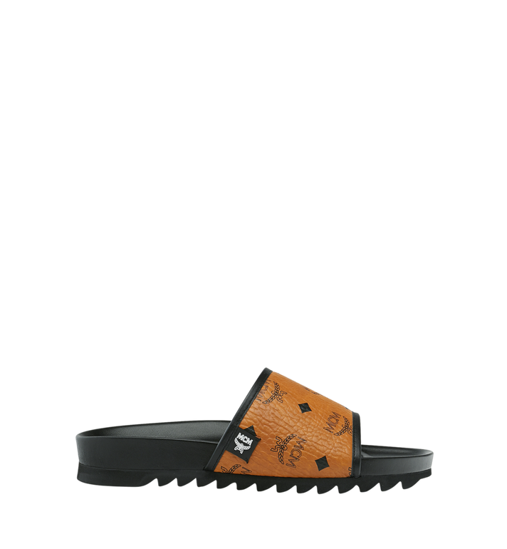 MCM Men's Slides in Visetos Alternate View 2