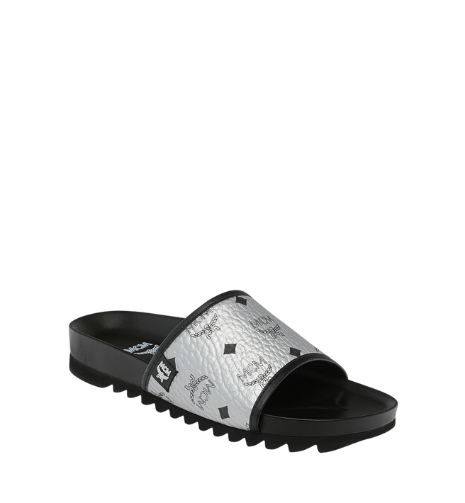 Mcm Slippers Men's Slides in Visetos