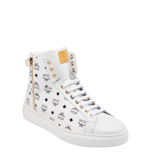 Men's Classic High Top Sneakers in Visetos