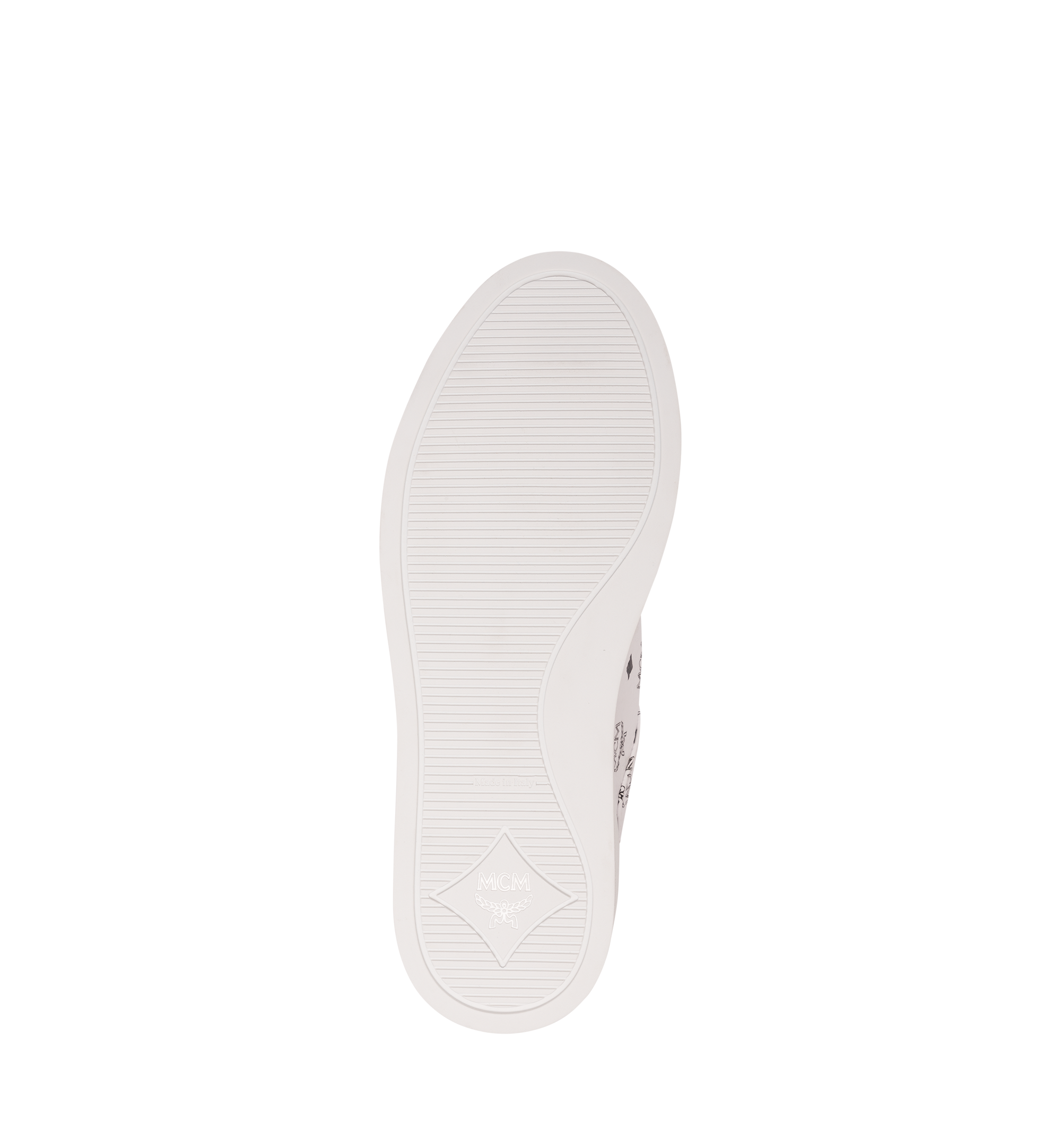 MCM メンズ クラシック ヴィセトス ロートップスニーカー White MEX9SMM04WT044 Alternate View 5