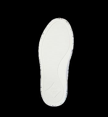 MCM メンズ MCMロゴ レザー ロートップスニーカー White MEX9SMM17WT041 Alternate View 5