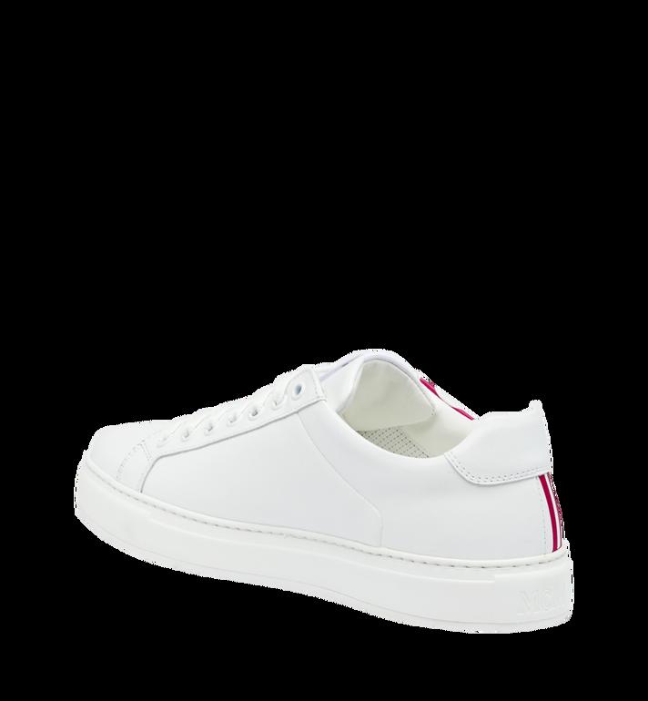 MCM Low Top Herren Sneakers mit Logo aus Leder Alternate View 3