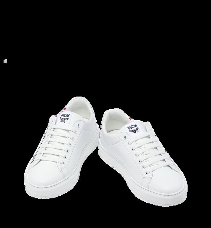 MCM Low Top Herren Sneakers mit Logo aus Leder Alternate View 4