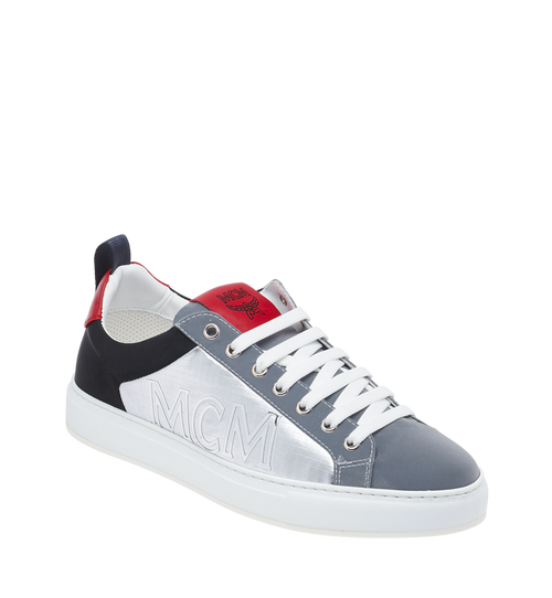 Men's Reflective Low Top Sneakers