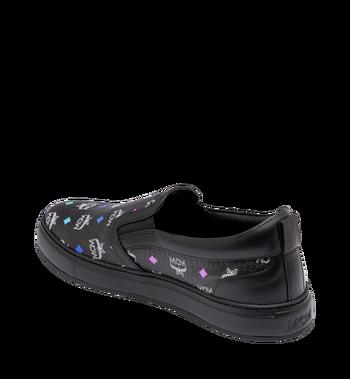MCM Herrenpantoletten-Sneakers in Spektrum Visetos Alternate View 3