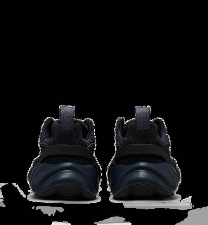MCM Men's Himmel Low Top Sneakers in Suede Black MEX9SNX04FE042 Alternate View 5