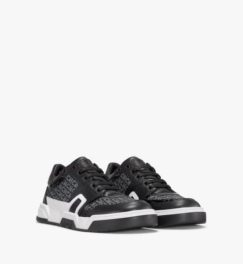 Men's Skyward Lo Sneakers in Diagonal Monogram Canvas