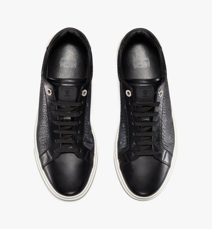 MCM Men's Terrain Lo Sneakers in Visetos Cognac MEXAAMM11BK041 Alternate View 5