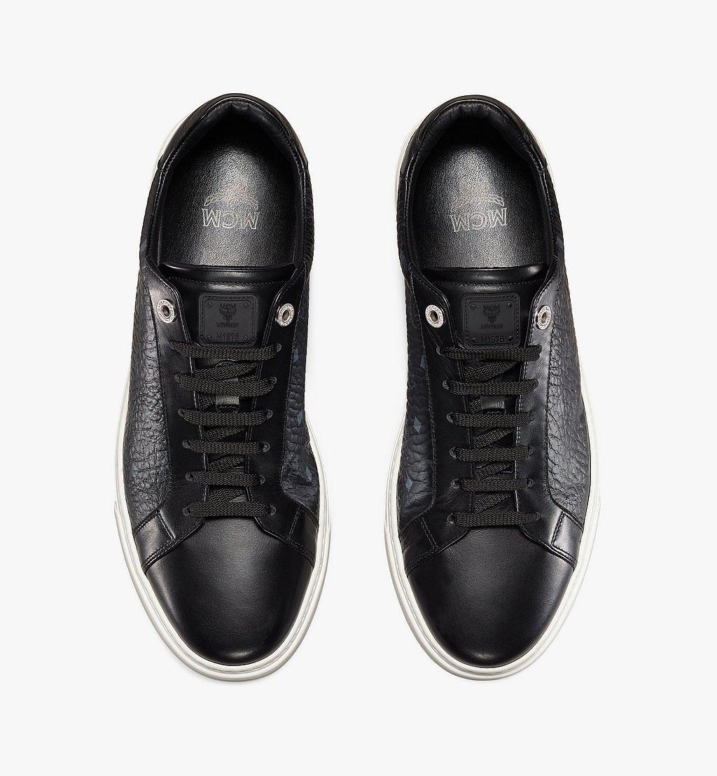 MCM Terrain Derby Low-Top-Sneaker in Visetos für Herren Cognac MEXAAMM11BK041 Noch mehr sehen 4
