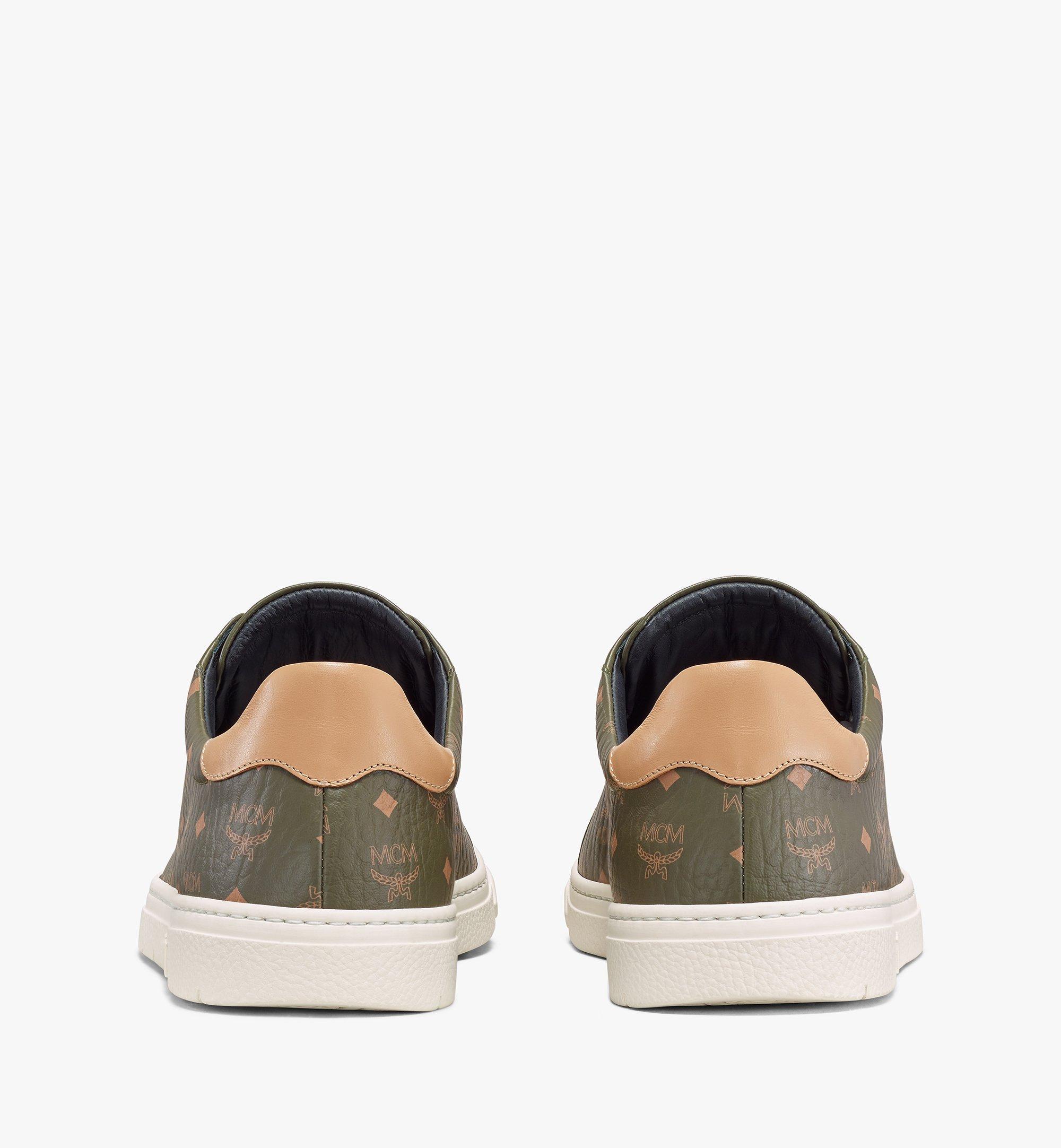 MCM Terrain Derby Low-Top-Sneaker in Visetos für Herren Black MEXAAMM11JH042 Noch mehr sehen 2