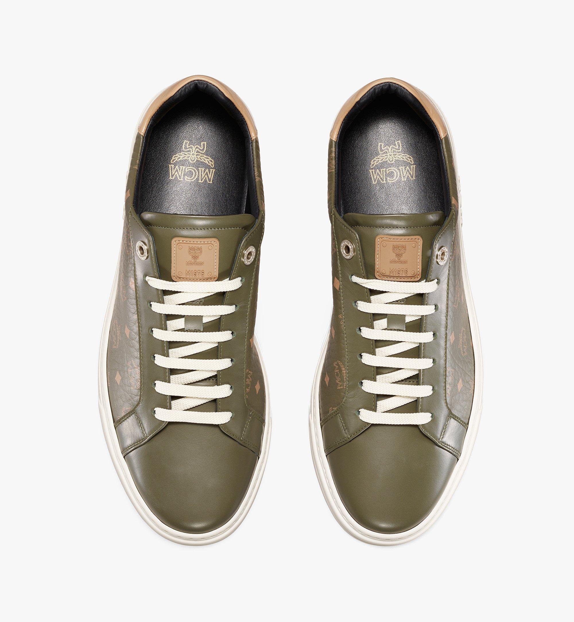 MCM Terrain Derby Low-Top-Sneaker in Visetos für Herren Black MEXAAMM11JH042 Noch mehr sehen 4